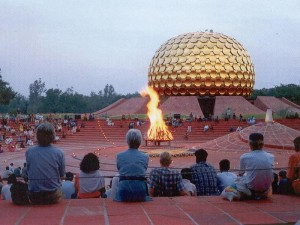 Matrimandir, Jour-Anniversaire d'Auroville