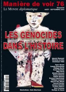 """""""Les Génocides de l'Histoire"""" - Le Monde Diplomatique. Michèle Decoust"""